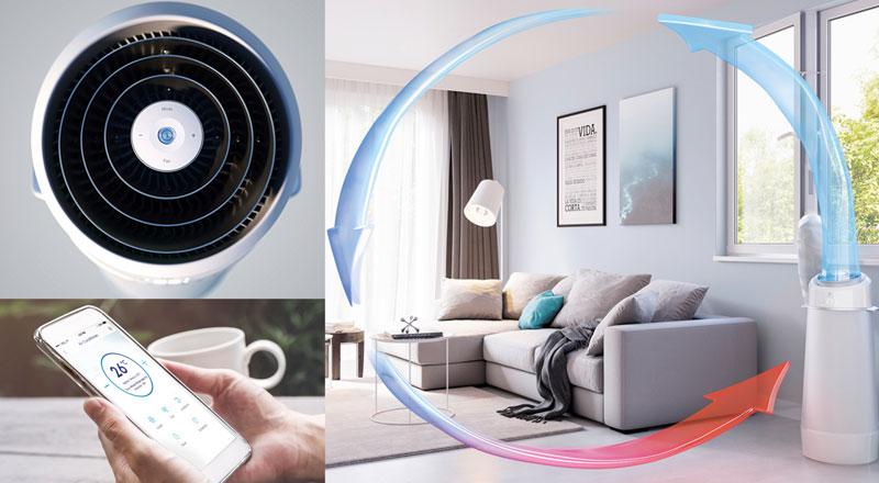 Splitter nya AC och luftkonditionering, tips före köpet - Electrolux Home MQ-87