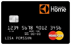 Electrolux Home MasterCard